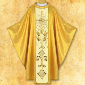"Chasuble embroidered Wedding ""What God has joined together"""