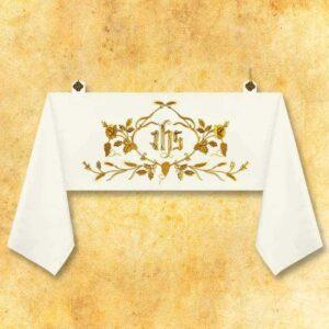 "Welon haftowany ""IHS Magnificat"""