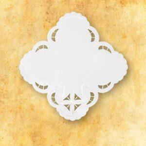 """Serwetka """"Krzyże w Kwadracie"""" 32×32"""