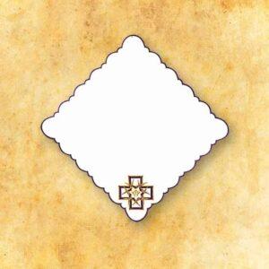 """Serwetka """"Krzyże z Cierniami"""" 32×32"""