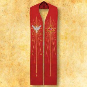 """Stuła haftowana """"Duch Święty"""""""