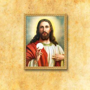 "Obraz na tkaninie ""Jezus Chrystus"""