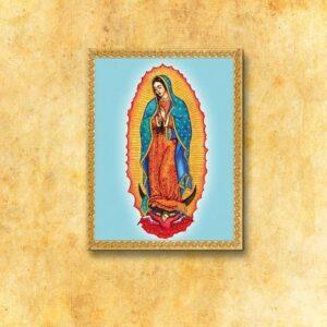 """Obraz  na tkaninie """"MB z Guadalupe"""""""