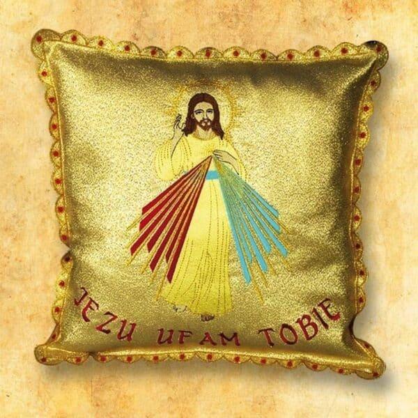 """Poduszka procesyjna """"Jezus Miłosierny"""""""