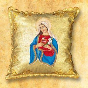 "Poduszka procesyjna ""Serce Maryi"""