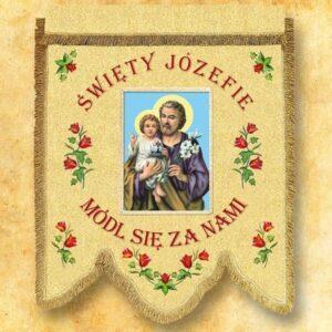 Chorągiew – Św. Józef