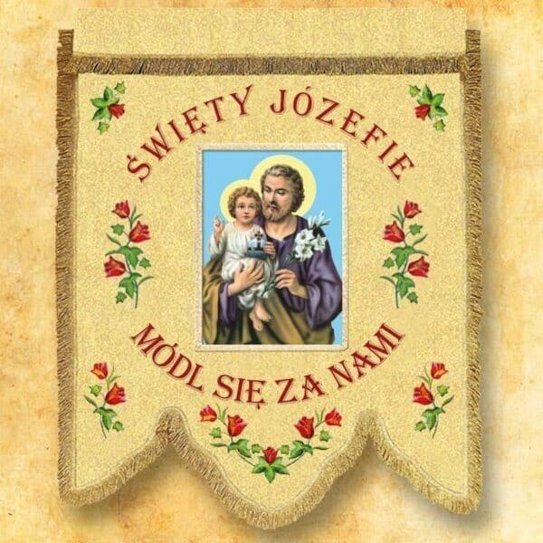 Chorągiew - Św. Józef