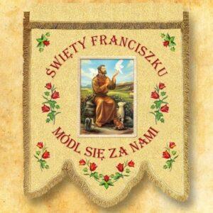 Chorągiew – Św. Franciszek
