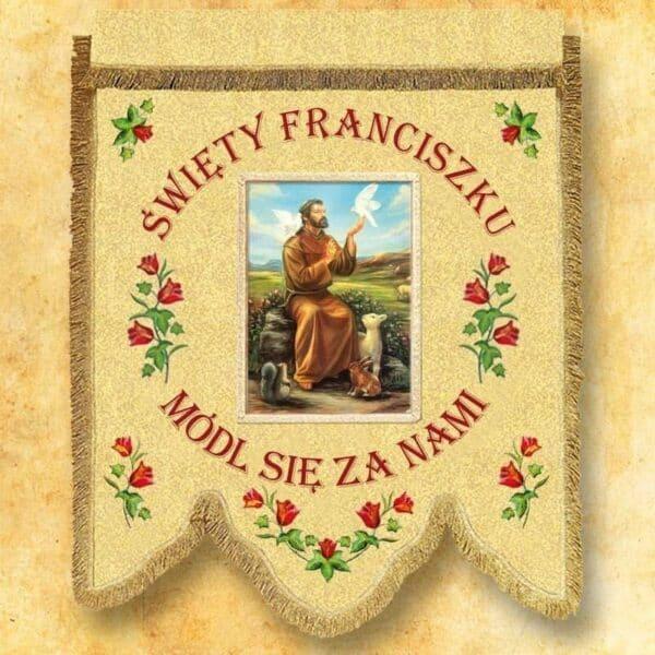 Chorągiew - Św. Franciszek