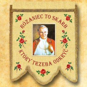 Chorągiew – Św. Jan Paweł II
