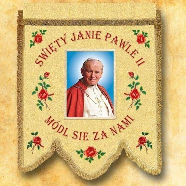 Chorągiew - Św. Jan Paweł II