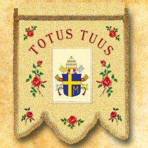 Chorągiew – herb Jana Pawła II