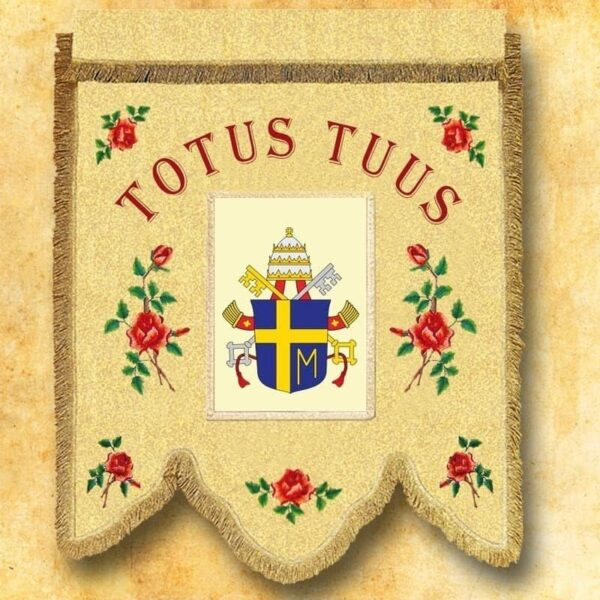 Chorągiew - herb Jana Pawła II