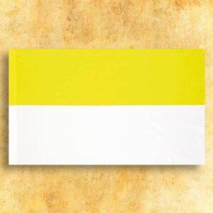 Flaga Żółto-Biała