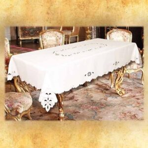 "Embroidered Tablecloth ""the Mini"""