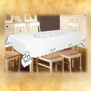 "Embroidered Tablecloth ""Esy Flores"""