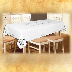 "Embroidered Tablecloth ""Bow"""