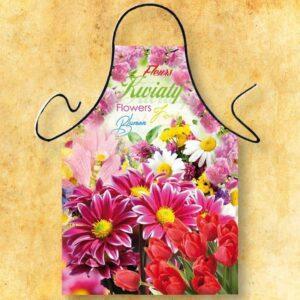 Fartuszek foto- kwiaty