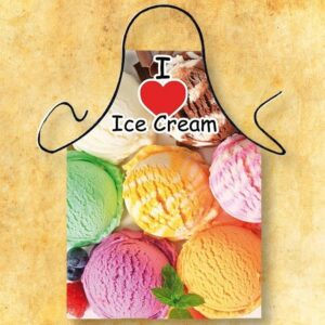 Fartuszek foto - ice cream