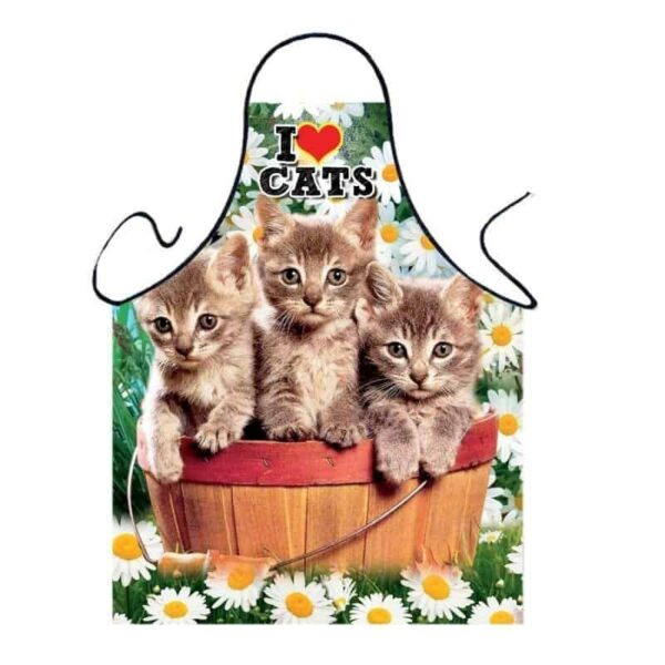 Fartuszek foto dla dzieci - kotki