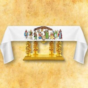 "Embroidered Tablecloth ""Bethlehem"""
