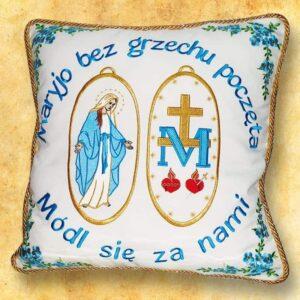 """Poduszka procesyjna """"Maryjna duża"""""""