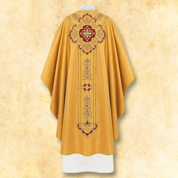 "Chasuble embroidered ""Vaticano"""