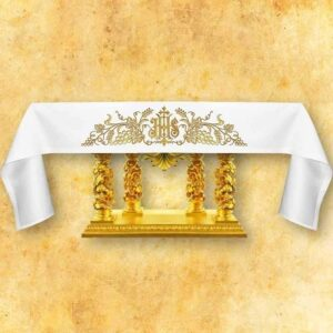 Tablecloth with frontal embroidery No 6