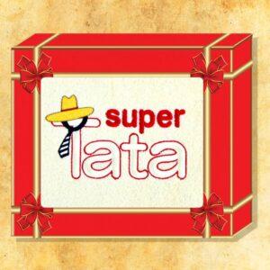 "Ręcznik haftowany ""Super Tata"""