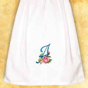"""Ręcznik haftowany dla Pań """"A"""""""