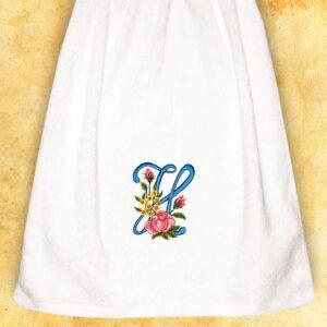"""Ręcznik haftowany dla Pań """"H"""""""