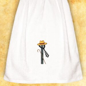 """Ręcznik haftowany dla Panów """"I"""""""