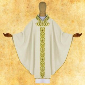 "Chasuble embroidered ""Cardinale"""