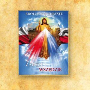 Ozdoba liturgiczna duża Jezus Miłosierny (fotograficzna)