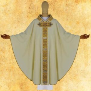 "Chasuble embroidered ""Paradiso"""