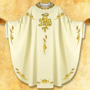 "Chasuble embroidered ""Parocco"""