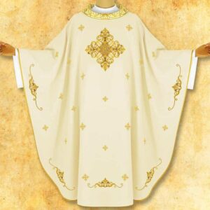 "Chasuble embroidered ""Vescuwo"""