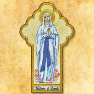 """Aplikacja haftowana """"Madonna di Lourdes"""""""