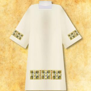 "Embroidered dalmatic ""Roma Gold"""