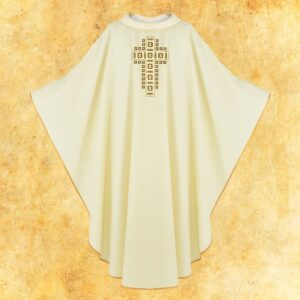 "Chasuble embroidered ""Mystery"""