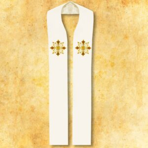 Deo's embroidered stole