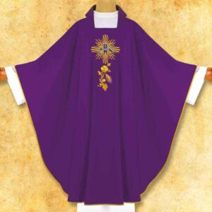 "Chasuble Embroidered ""Dominion"""