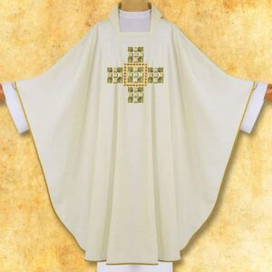 """Chasuble brodé """"Roma Gold"""""""