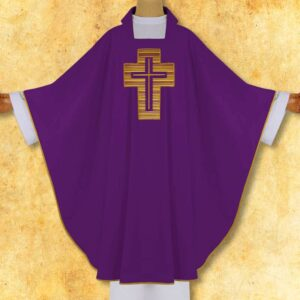 "Chasuble Embroidered ""Cross"""