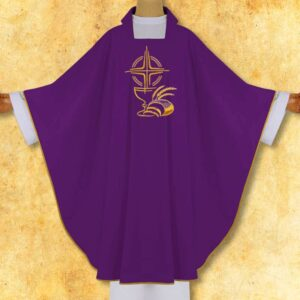 "Chasuble Embroidered ""Eucharistic"""