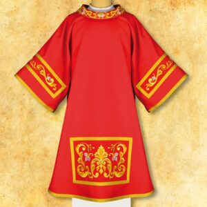 "Dalmatic Embroidered ""Gospel"""