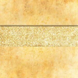 Lamówka złota zaprasowana