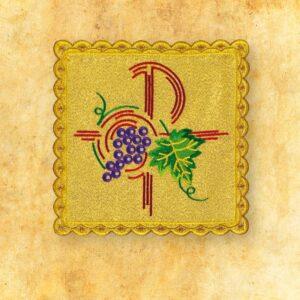 Palka haftowana złota nr 32