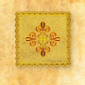 Palka haftowana złota nr 33