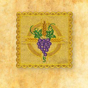 Palka haftowana złota nr 34